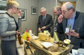 Au programme de cette inauguration : dégustation de produits du terroire local en partenariat avec l'Epicuroise.
