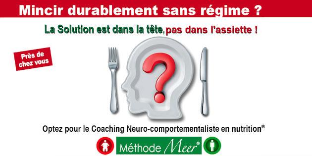 Maigrir durablement sans régime? La solution est dans la tête, pas dans l'assiette.