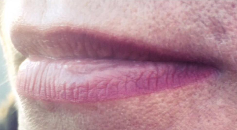 Voilage lèvres, léger et naturel