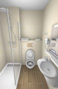 Aperçu 3D de votre projet de salle de bains