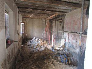 rénovation d'un logement communal à Dompcevrin