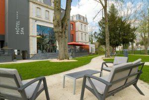Parc Jardins du Mess à Verdun en Meuse