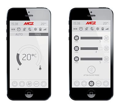 Poêles pilotables avec un Smartphone grâce à la technologie Maestro