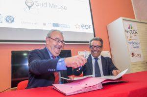 Signature de la reconduction de la convention entre la Communauté d'Agglomération de Bar-le-Duc et la CAPEB de la Meuse pour 2018.
