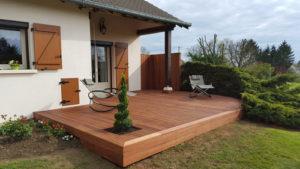 Terrasse bois Meuse