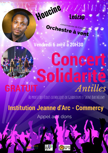 Concert solidarité avec Houcine à Commercy en Meuse