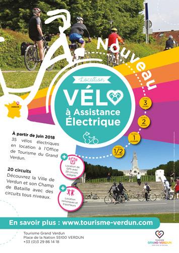 Location de vélos à Verdun en Meuse