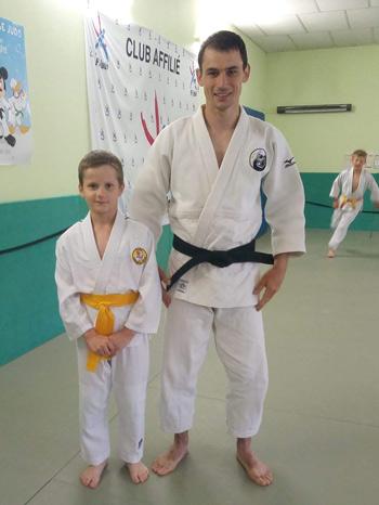 Entraîneur du Judo Club de Belleville sur Meuse
