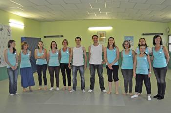 Taiso au Judo Club de Belleville sur Meuse