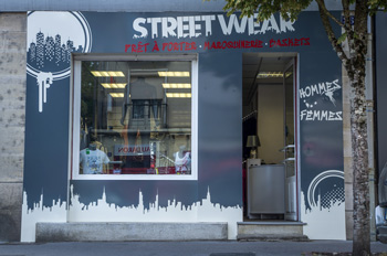 La boutique Streetwear rue Poincaré à Verdun