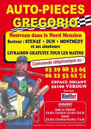 Livraison de vos pièces auto Nord Meuse