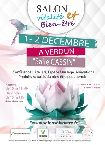 Affiche Salon bien-être Verdun en Meuse