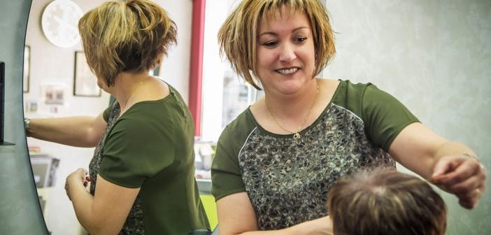 Angélique Rodrigues, gérante du salon D'Ici et d'Ailleurs d'Etain.