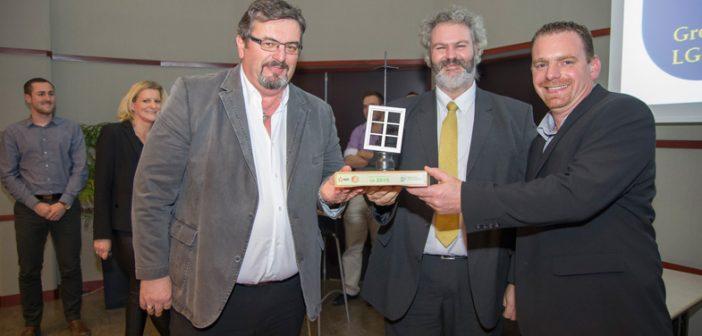 L'entreprise LG BATIRENO a été récompensée pour la qualité de son travail à l'occasion de la remise des prix Rénovation Basse Consommation d'EDF.