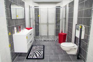 Moulet Matériaux Exposition Salles de bains
