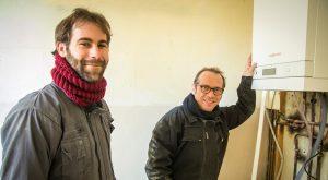 Jérémie Ory (à gauche) et Lionel Boulay (forcément à droite) unissent leurs compétences pour s'attaquer à des chantiers de plus grande envergure.