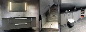 Dressing, salles de bains et cuisine à Verdun en Meuse