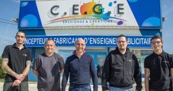 L'équipe C.E.G.E de Belleville sur Meuse