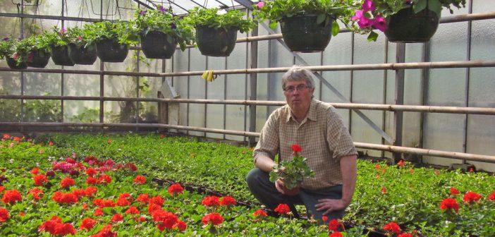Jean Claude Charton fête les 70 ans d'Eden Flor