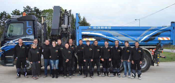 L'équipe LG Batiréno, Vignot en Meuse