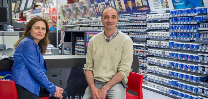 Corinne et Emmanuel Bazin, nouveaux directeurs de Bricomarché Verdun