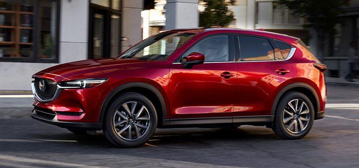 Mazda CX-5 à Verdun en Meuse