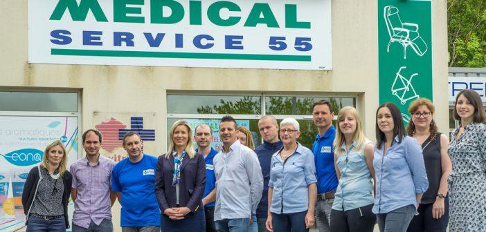 Médical Service 55, le partenaire santé également au service des particuliers en Meuse