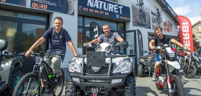 Naturet quads, vélos et motos en Meuse