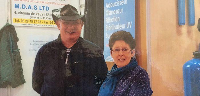Jean et Annie Henriot, les experts de la purification d'eau en Meuse