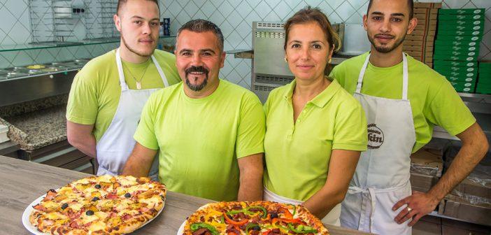 L'équipe d'Ekin Pizza à Thierville sur Meuse