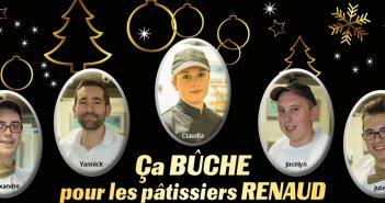 Equipe pâtissiers Renaud Boulangerie à Verdun en Meuse