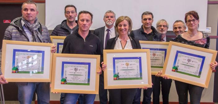 Les lauréats du trophée EDF RBC 2018