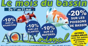 Mois du bassin chez Aqua'nimal Verdun
