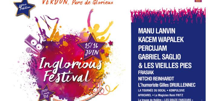 Inglorious Festival 2018 concert à Verdun en Meuse
