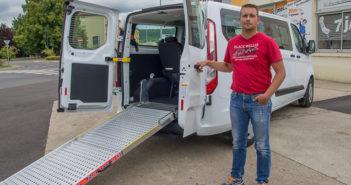 minibus personnes handicapées en Meuse