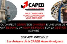 service juridique Capeb Meuse