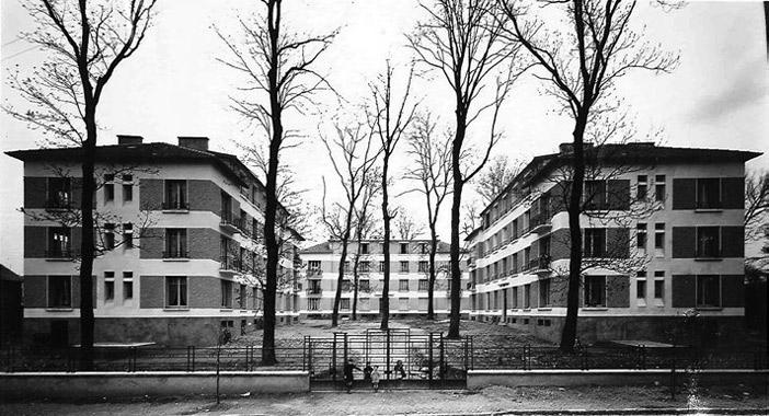 Verdun, rue du Fort de Vaux, pavillons Faivre, Bazin et Zimmer. Construction 1938 • Démolition 2012-2014