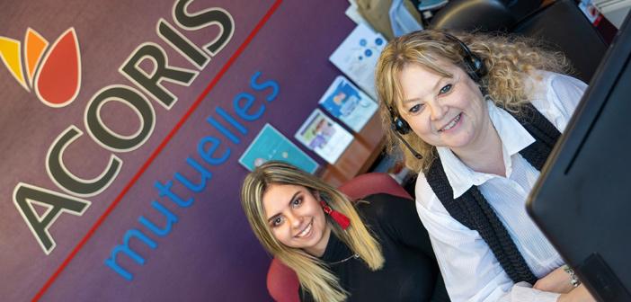 Patricia et Justine vous accueillent chez Acoris Mutuelles Bar-le-duc