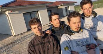 Jordan Mayeur et son équipe construisent des maisons ossature bois