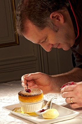 Cuisine gastronomique au chateau des Monthairons en Meuse