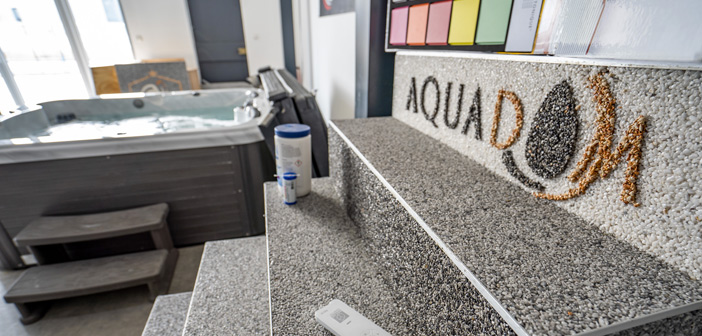 Aquadom tapis de marbre, spa et pergolas en meuse, marne, moselle et haute-marne