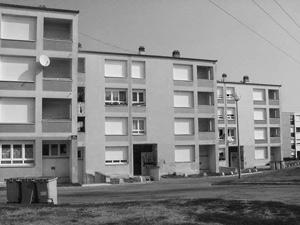 Verdun, rues Edmond Michelet et André Malraux Construction 1969
