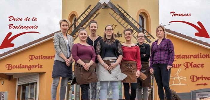 Equipe Restaurant Moulin des gourmandises à Verdun