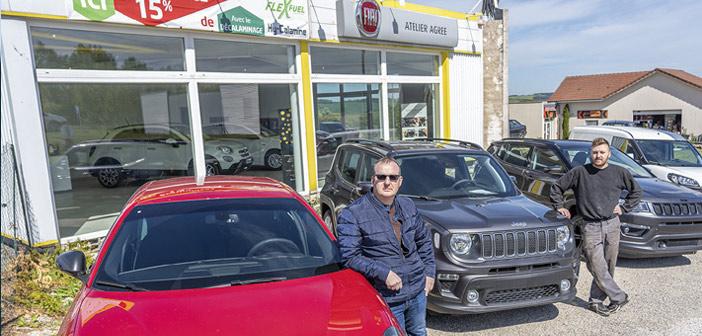 Fiat, Alpha Romeo et Jeep en Meuse