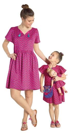 vêtements enfants : collection mère/fille