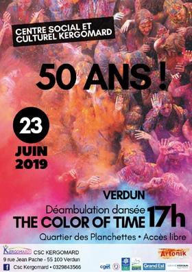 anniversaire 50 ans du centre social et culturel Kergomrad à Verdun
