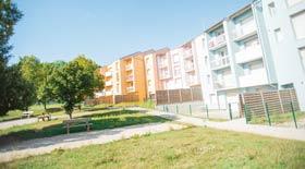 Vaucouleurs, quartier Saint-Thiébaut, construction 1980-1983 - Réhabilitation 2013, trophée de l'excellence énergétique 2014