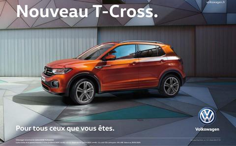 Volkswagen T-Cross à Verdun en Meuse