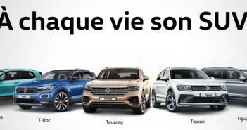 Nouveau T-cross, T-roc, Touareg, TIguan, Tiguan Allspace 7 places