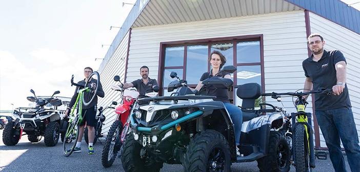 (motos, quads, scooters et voitures sans permis toutes marques